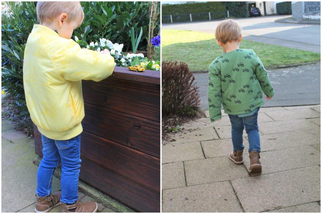 Smafolk Spring Collection Seson 2017 Boys Trucks Jacket Tractor Apples Pineapple Tiger Jules kleines Freudenhaus Giveaway