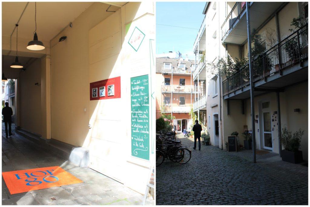 Hof 80 Cafe du Midi Duesseldorf Nordstrasse Jules kleines Freudenhaus