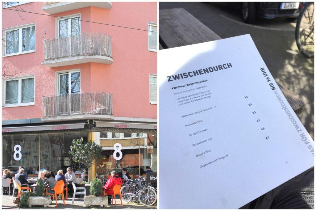 Kwadrat Cafe Duesseldorf Nordstrasse Jules kleines Freudenhaus