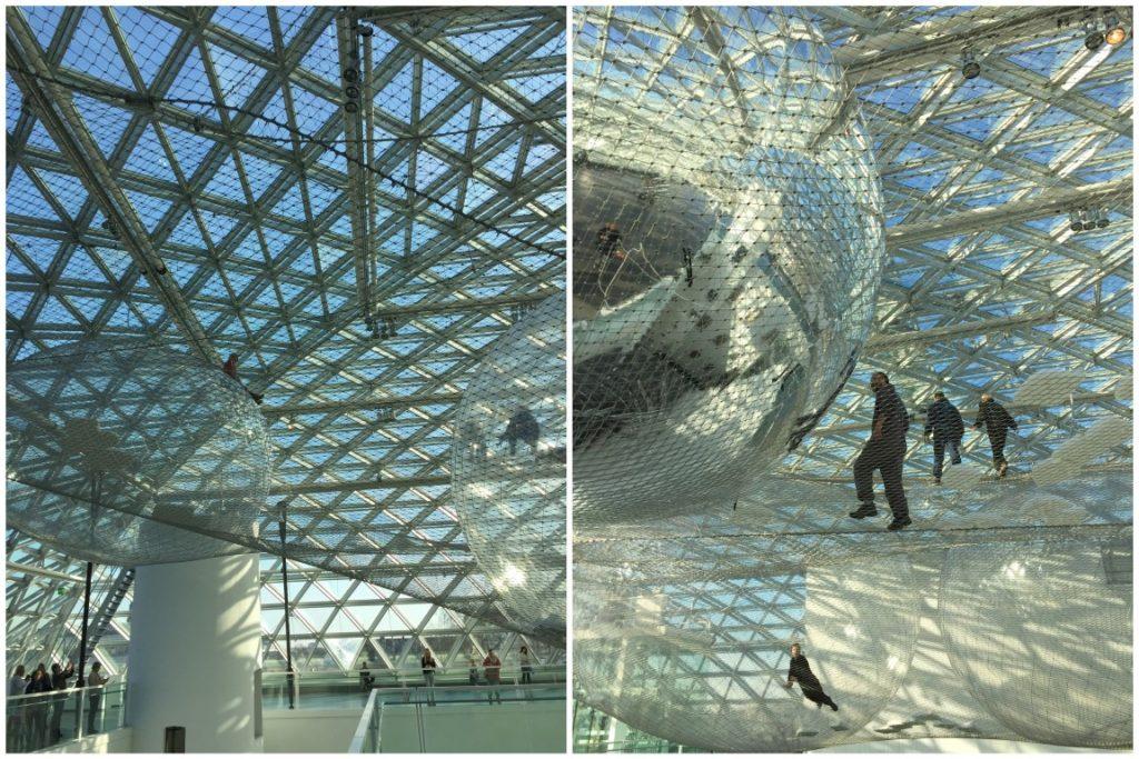 Installation inOrbit Tomas Saraceno Kunstsammlung NRW K21 Duesseldorf Jules kleines Freudenhaus