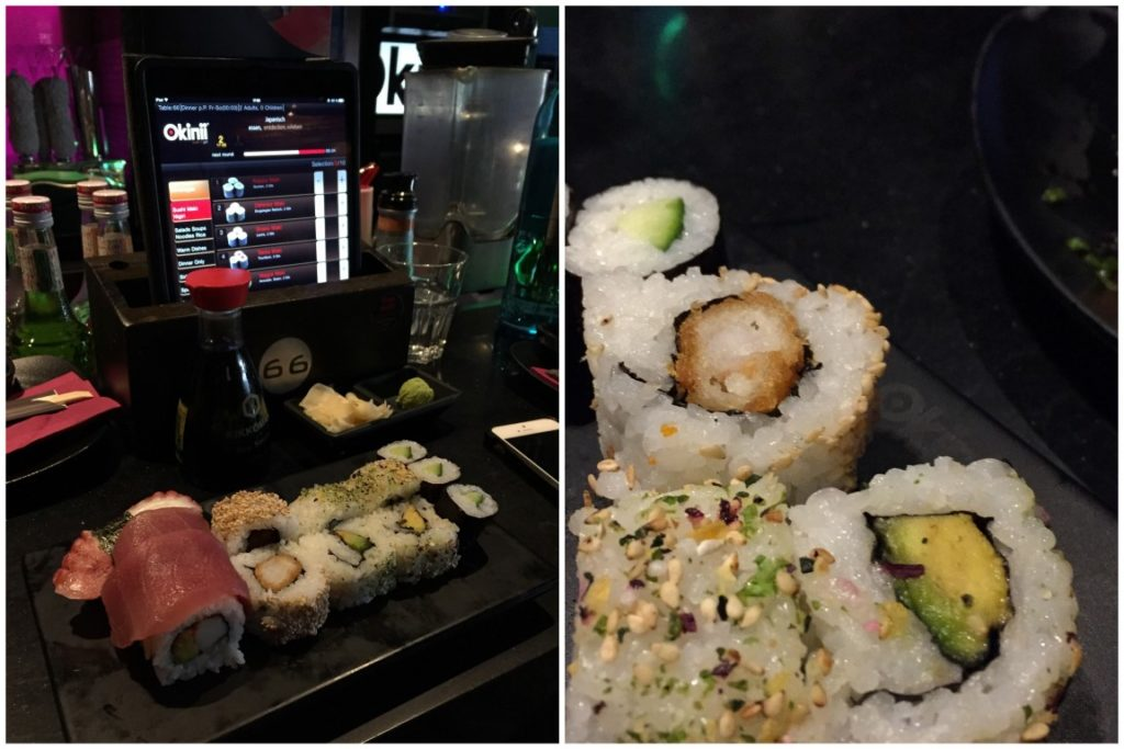 okinii Duesseldorf Sushi Bar All you can eat Jules kleines Freudenhaus