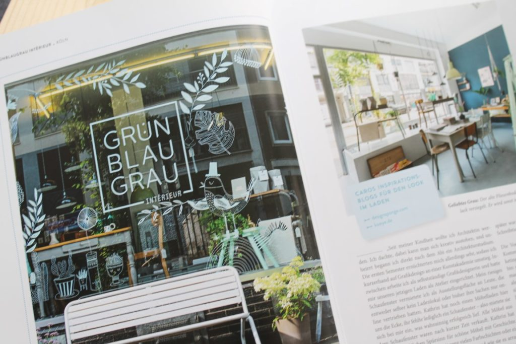 Shop Girls Buchtipp Rezension Fruehjahr Callwey Verlag Jules kleines Freudenhaus Gruen Blau Grau Koeln Ehrenfeld