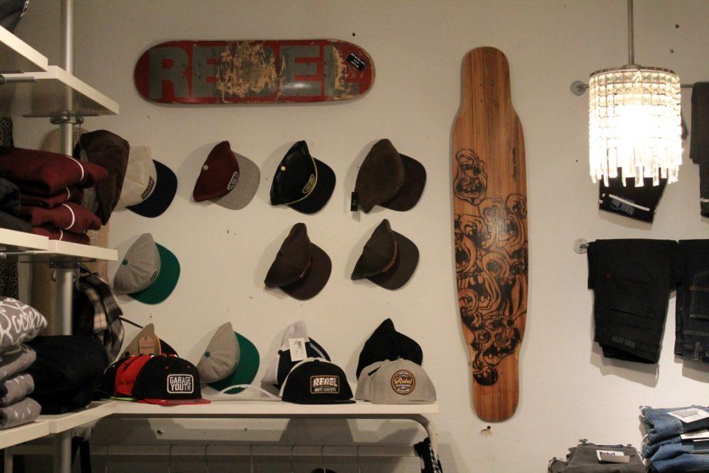 Rebels Garage Skatershop Duesseldorf Nordstrasse Jules kleines Freudenhaus