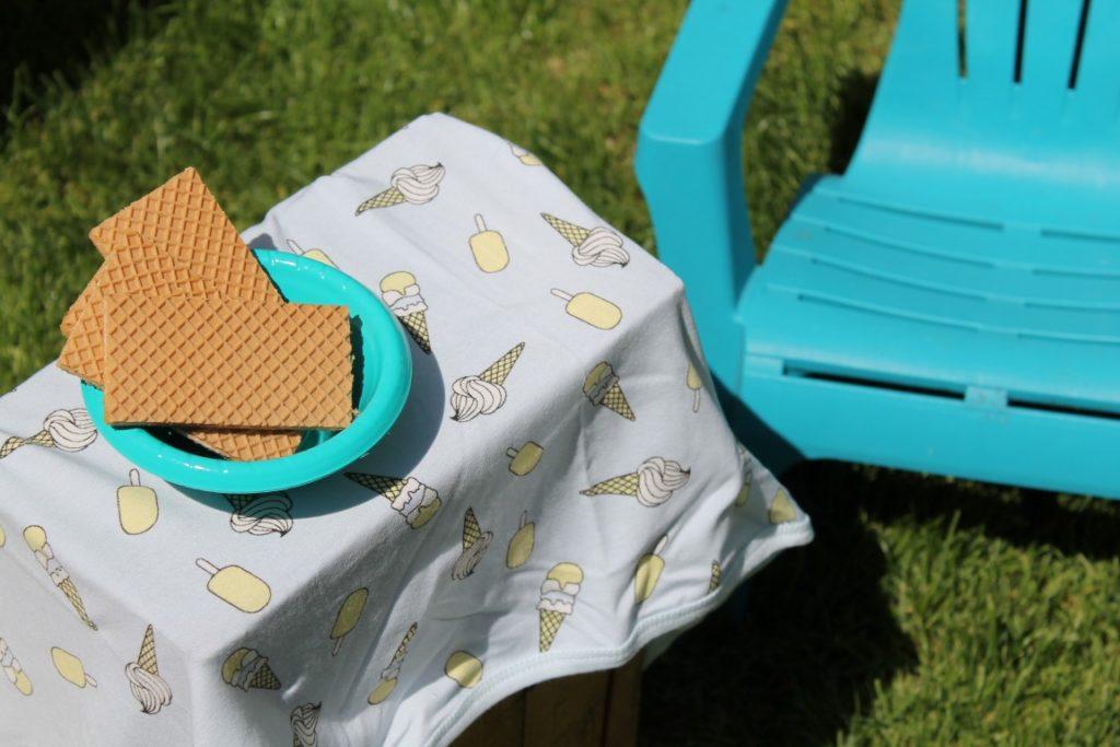 DIY Eiscafe Eiscreme Party Sommerparty Kinder Smafolk Sommer Kollektion Jules kleines Freudenhaus