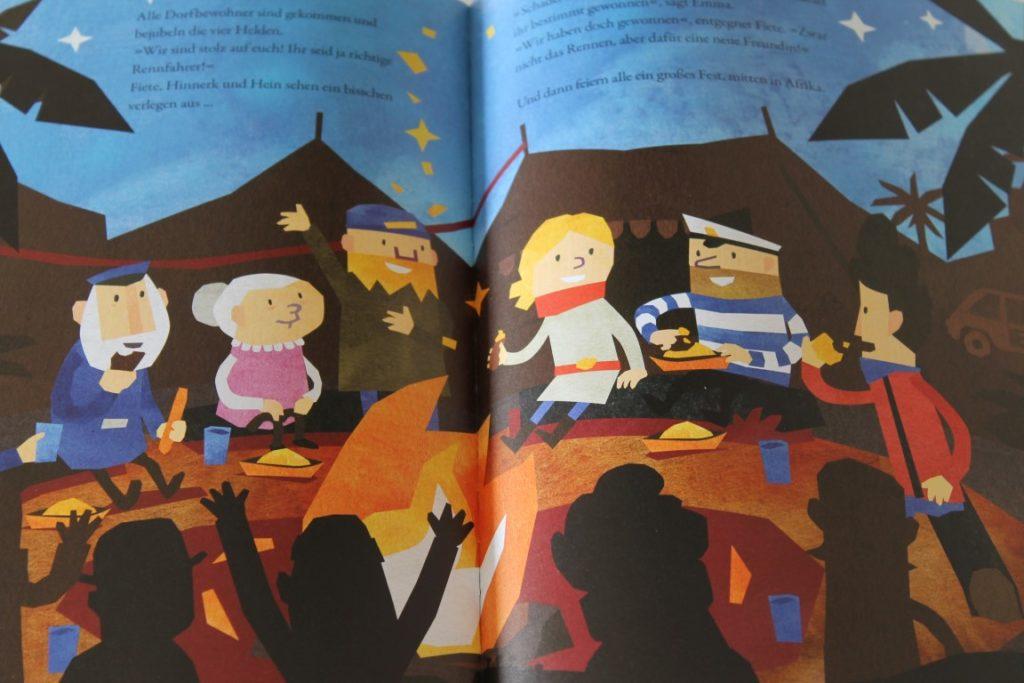 Neuerscheinung Kinderbuch Fiete Bilderbuch Das verrueckte Rennen inkl Verlosung neue App Fiete Cars Jules kleines Freudenhaus
