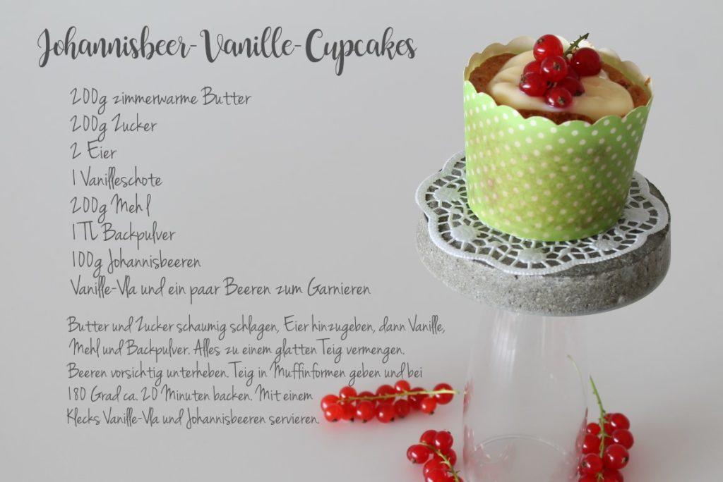 Rezept Johannisbeer-Vanille-Muffin Jules kleines Freudenhaus