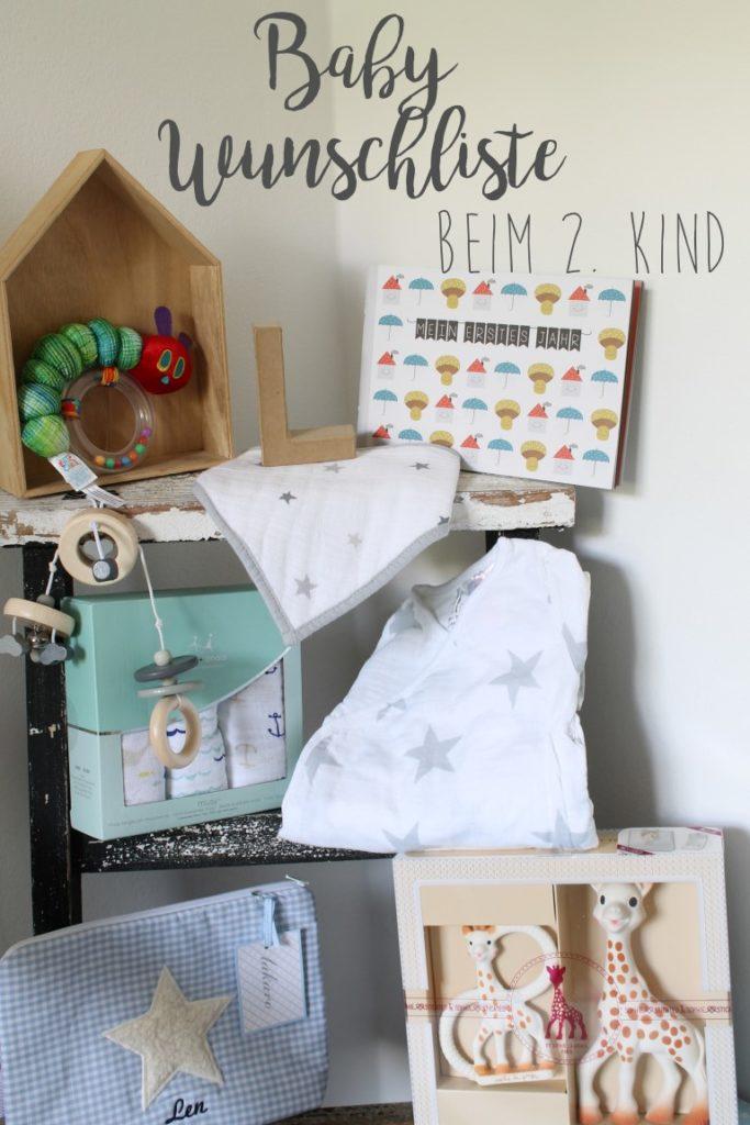 Baby Wunschliste Kind 2 mit tausendkind Jules kleines Freudenhaus