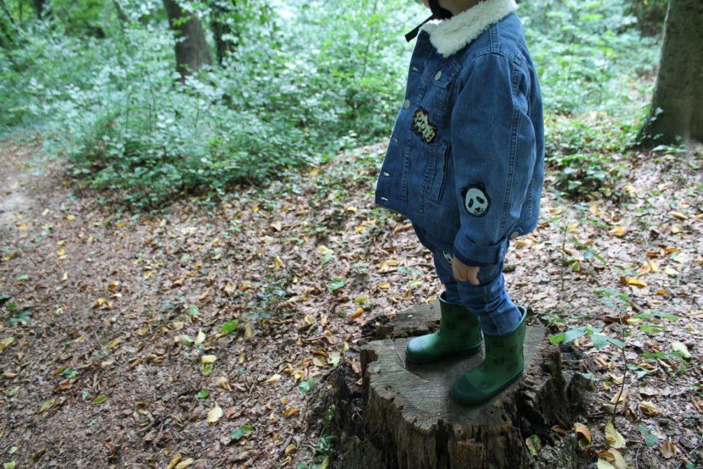 Waldbesuch Smafolk ELTERN Herbstkollektion Kooperation Fall 2017 Herbstfunde Wald Jules kleines Freudenhaus