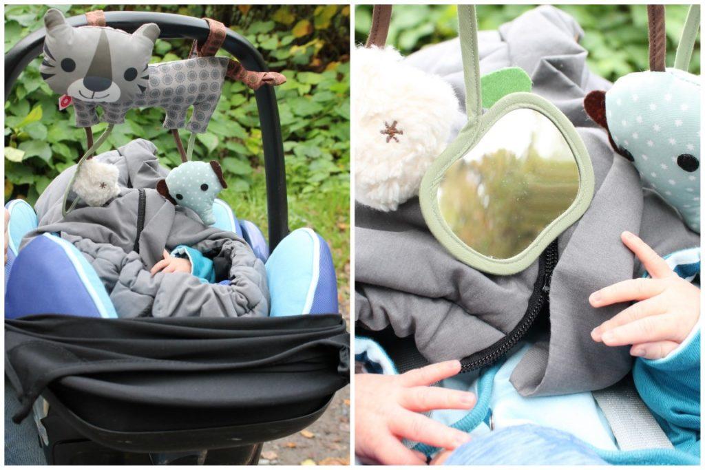Activity Tool Maxi Cosi Spiel Spirale Babysafe Waldspaziergang Herbst Jules kleines Freudenhaus