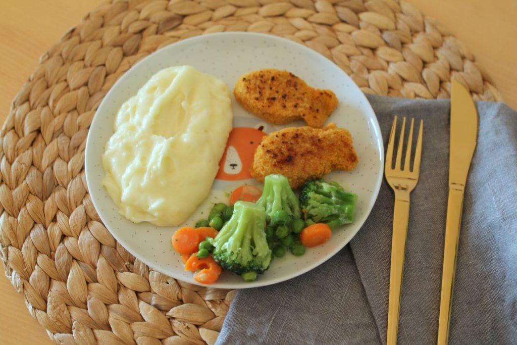 Gesunder Teller Gemuese Gesund Kochen fuer Kinder Kinderernaehrung mit der Maus und bofrost Jules kleines Freudenhaus