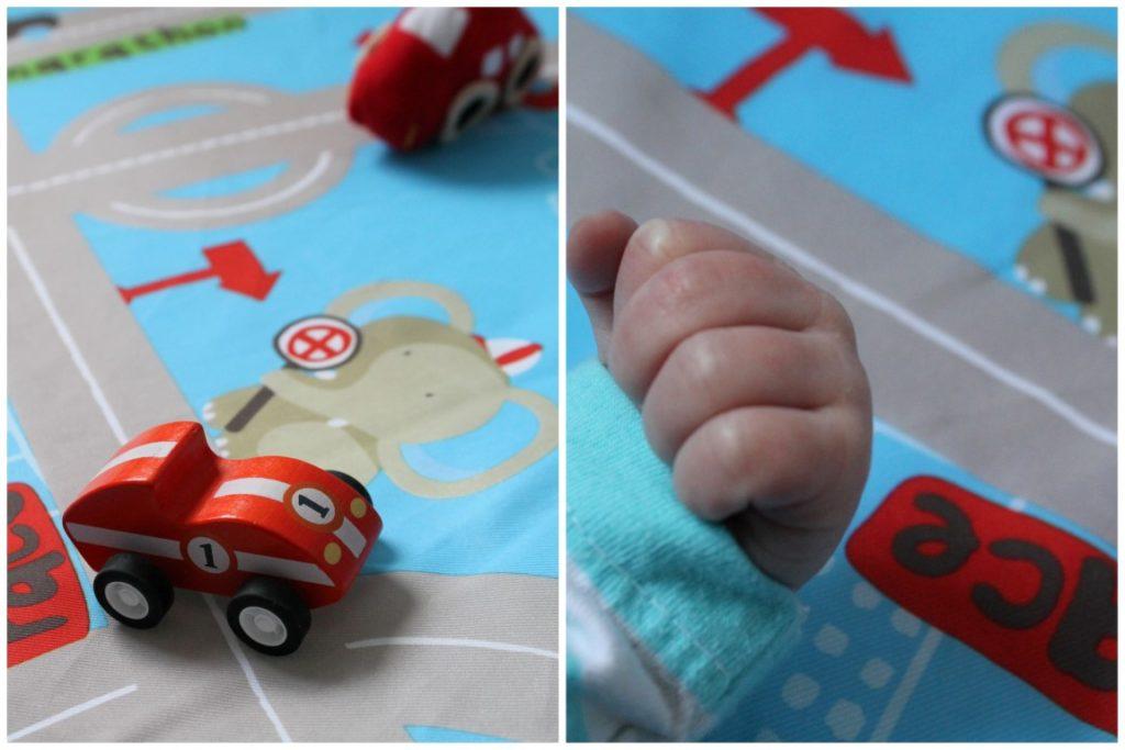 Reisebett Matratze Spielmatratze Autos Geschenkideen zu Weihnachten fuer Babys Kleinkinder Jules kleines Freudenhaus