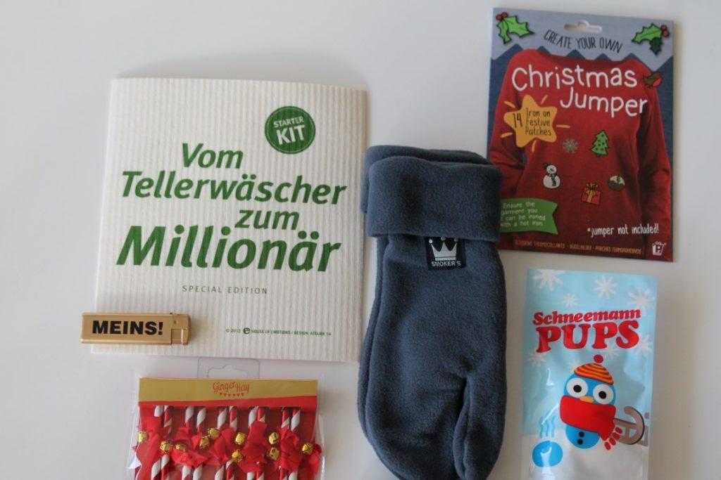 Adventskalender fuer Maenner befuellen und schnell selbermachen Adventskalender Tuete Jules kleines Freudenhaus und geschenke.de