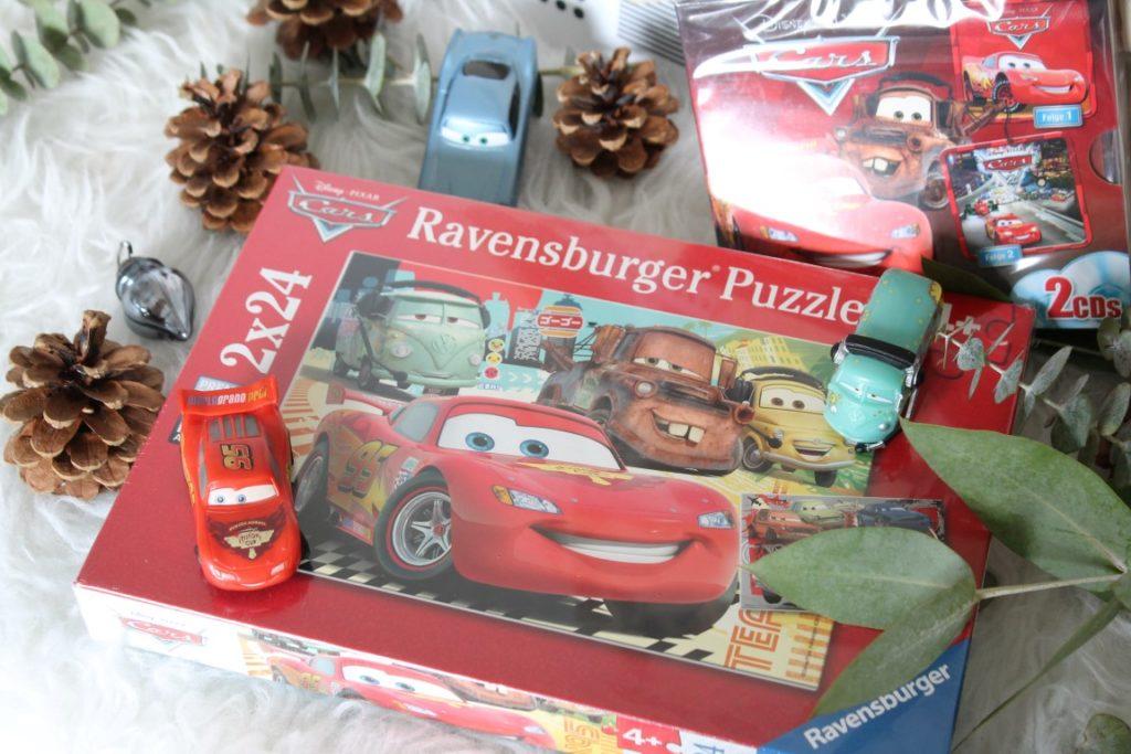 Adventskalender Ideen Befuellung fuer Kinder Cars 3 Puzzle Ravensburger Jules kleines Freudenhaus
