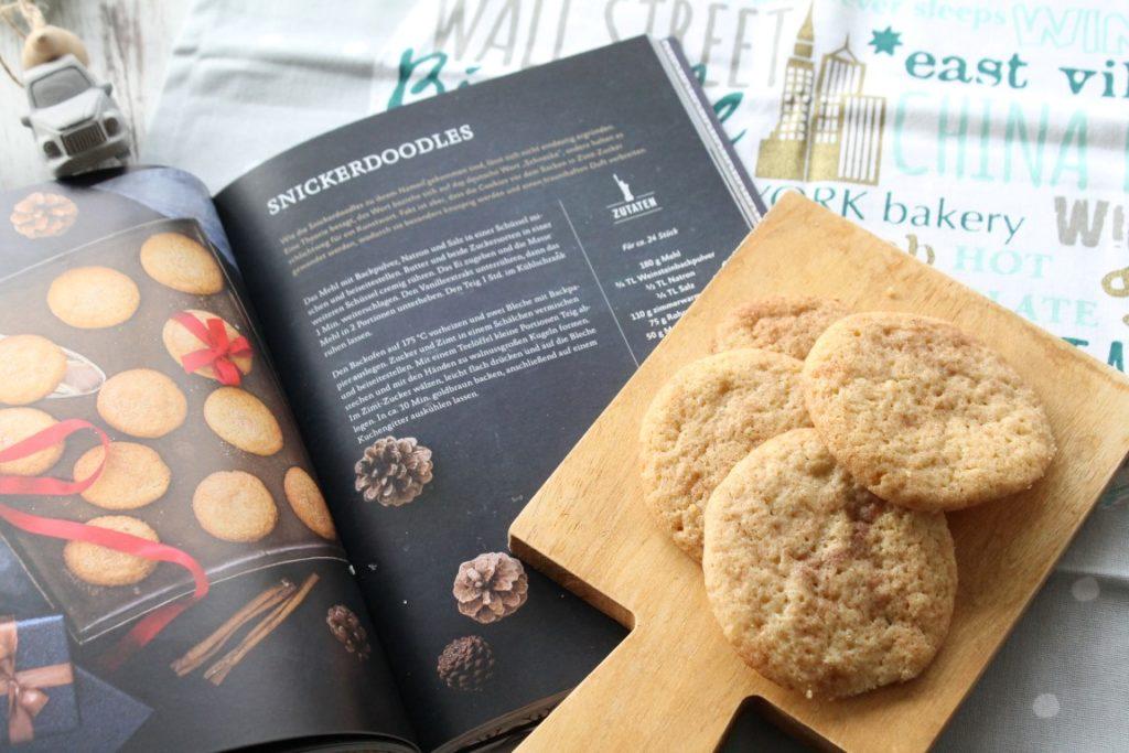 Snickerdoodles New York Christmas Baking Buchtipp Hoelker Verlag jules kleines Freudenhaus