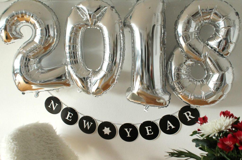 Frohes neues Jahr Gluecksmomente Glas 2018 Jules kleines Freudenhaus