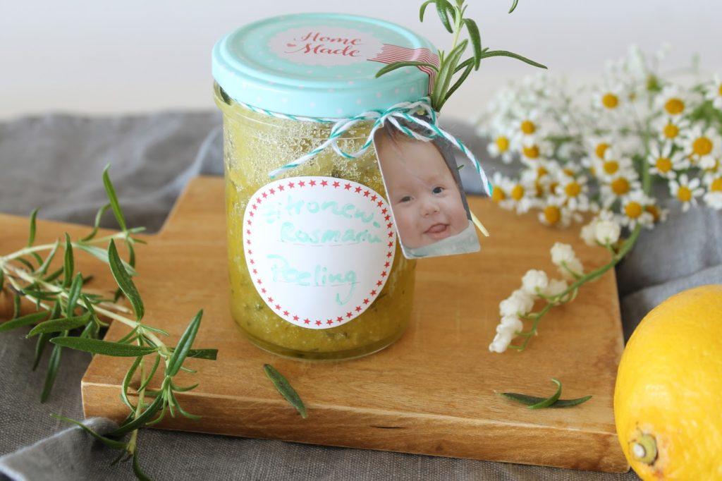 Peeling selber machen selbstgemacht Geschenke Muttertag Geburtstag Mutter Jules kleines Freudenhaus