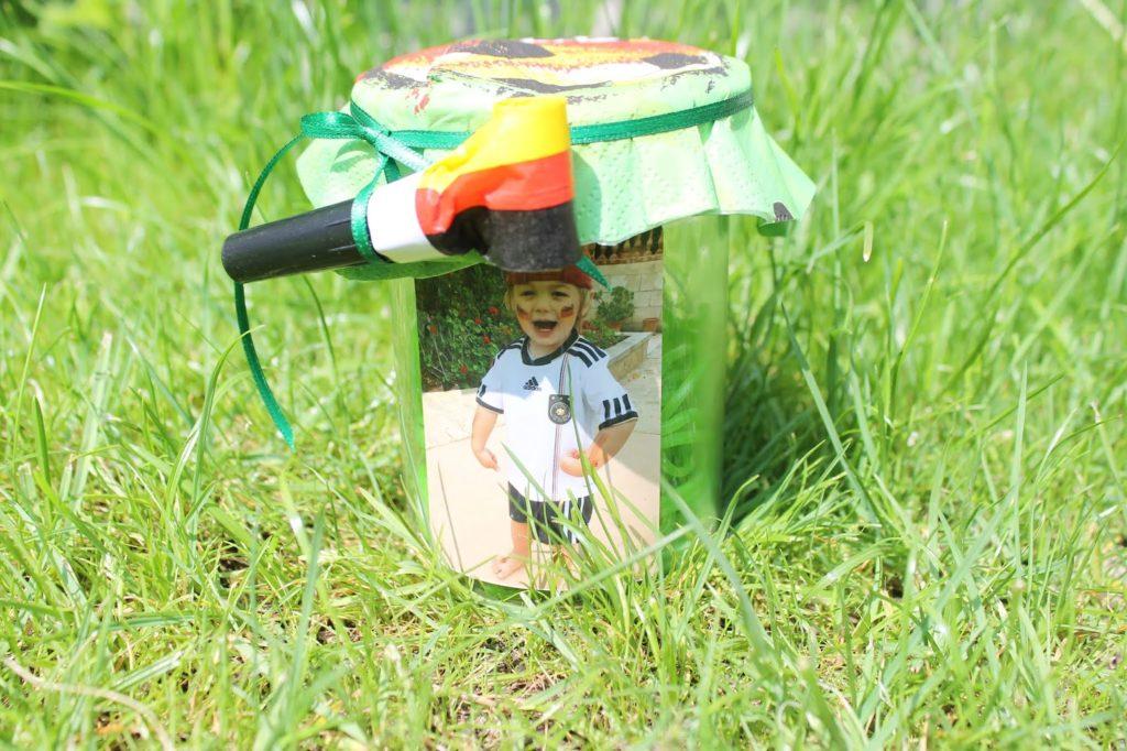 WM im Glas DIY Idee Geschenkidee Mitbringsel Jules kleines Freudenhaus
