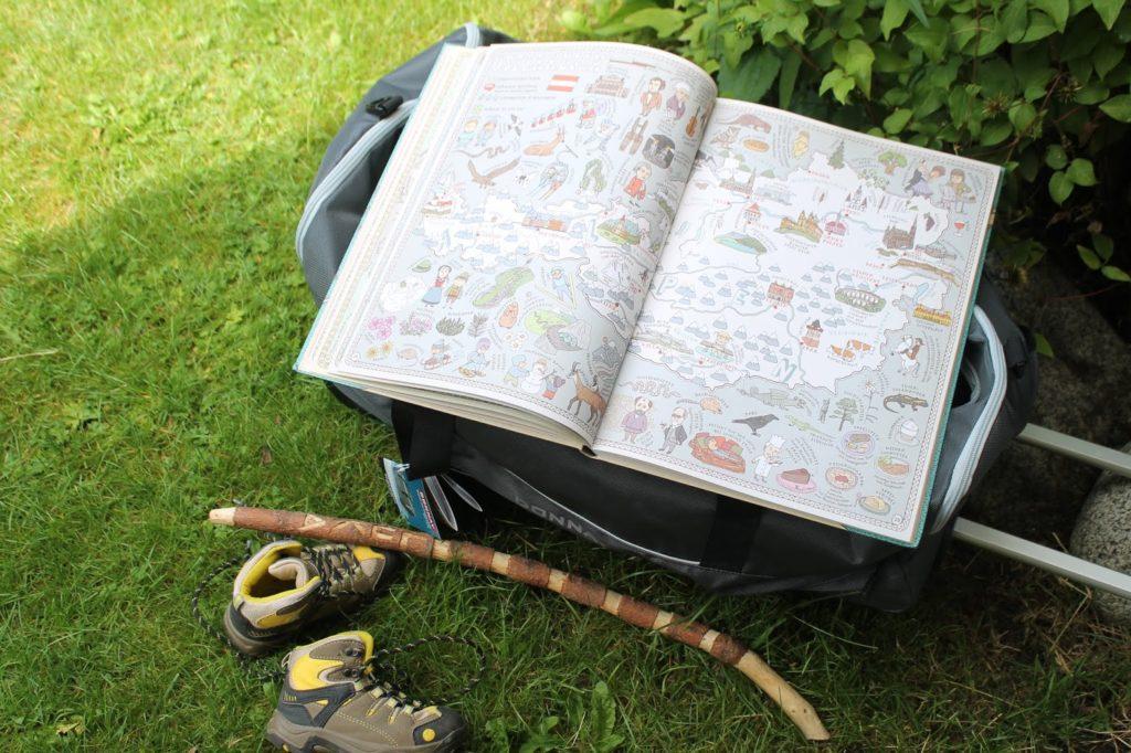Reisen mit Kindern Berge Sommerurlaub Packliste Jules kleines Freudenhaus