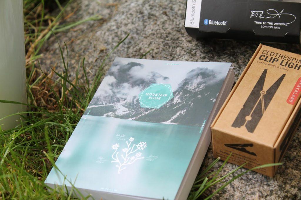 Urlaub in den Bergen Mountain Book Wanderlust Wander Journal Jules kleines Freudenhaus