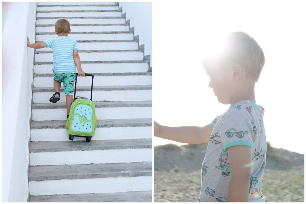 Smafolk Sommer Kollektion Jungs Familienurlaub Kreta Jules kleines Freudenhaus
