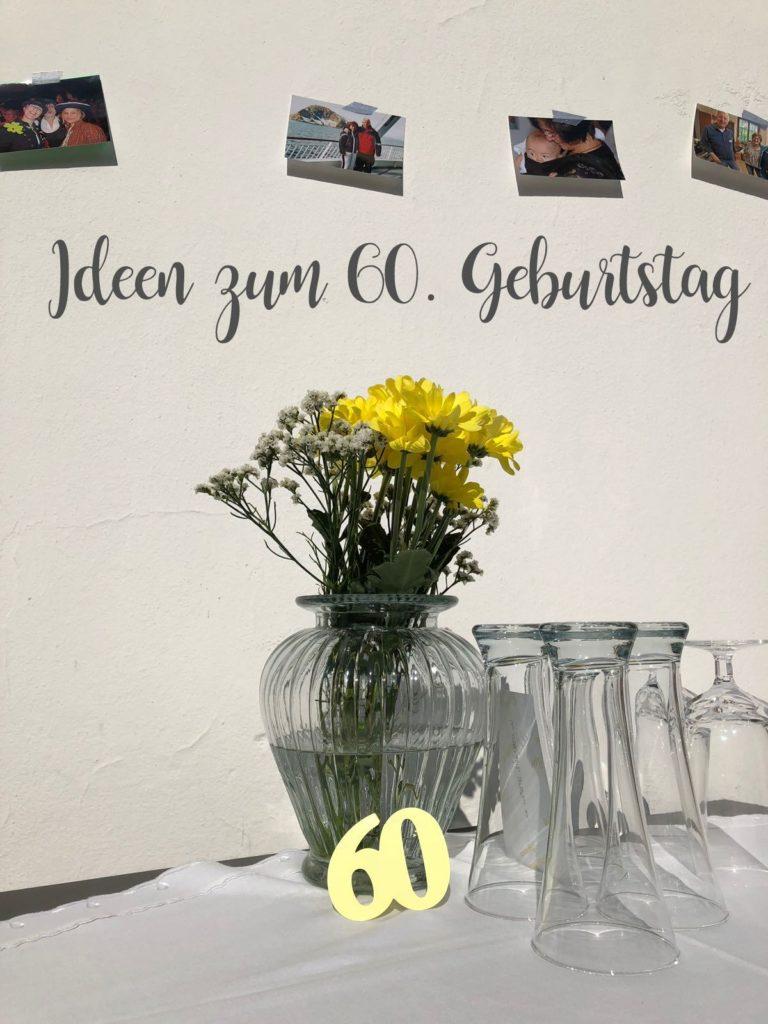 Ideen zum 60. Geburtstag Geschenke Deko Fotos Erinnerungen Jules kleines Freudenhaus