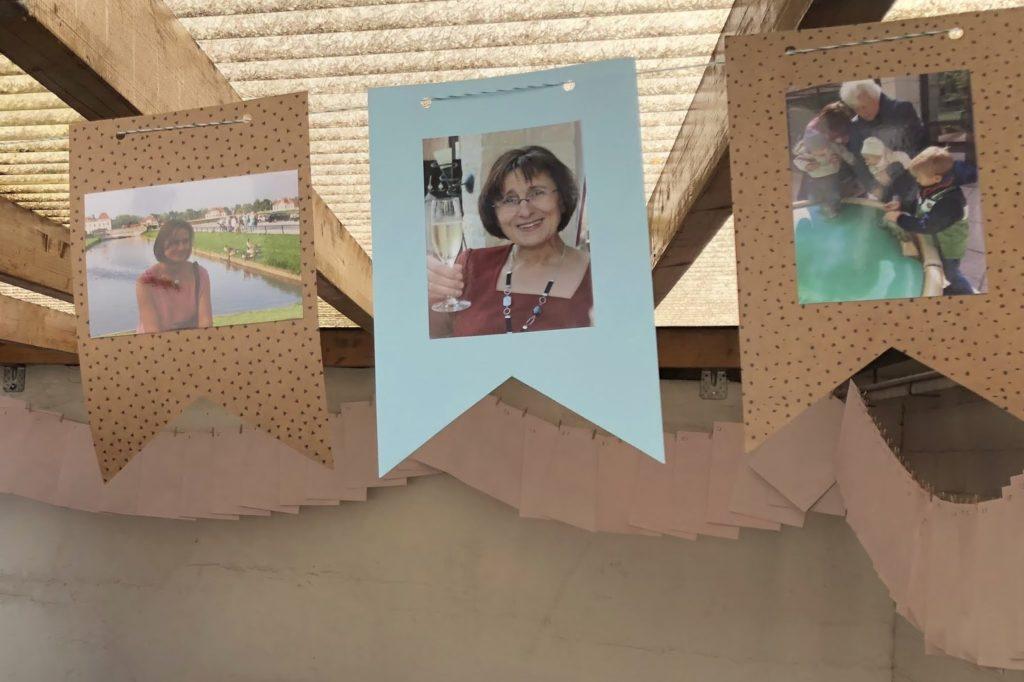 Wimpelkette Fotogeschenke 60 Geburtstag Jules kleines Freudenhaus