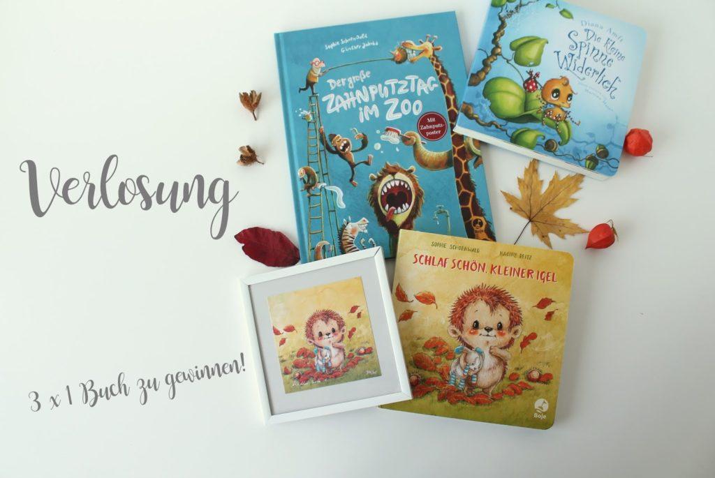 Verlosung Giveaway Buchpaket Herbst Boje Verlag Jules kleines Freudenhaus