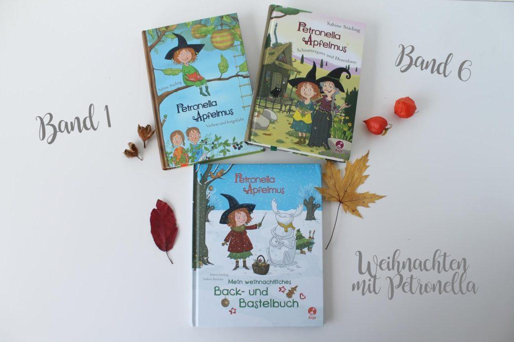 Petronella Apfelmus Band 1 und 6 und Weihnachtsbuch Kinderbuchtipps Jules kleines Freudenhaus