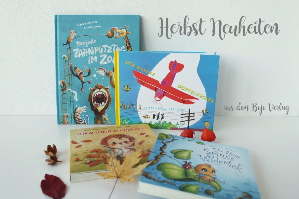 Herbst Neuheiten Kinderbuecher Boje Verlag Kinderbuchtipp Buchtipp Leseratten Jules kleines Freudenhaus
