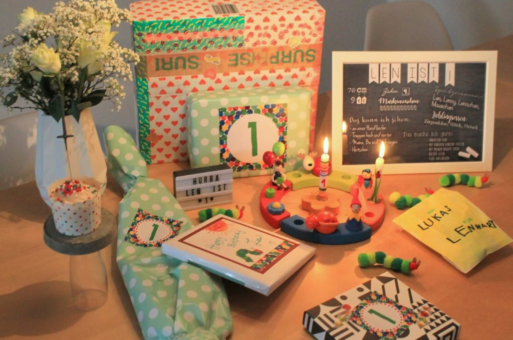 Raupe Nimmersatt Geburtstagssause Hungry Caterpillar Birthday Jules kleines Freudenhaus