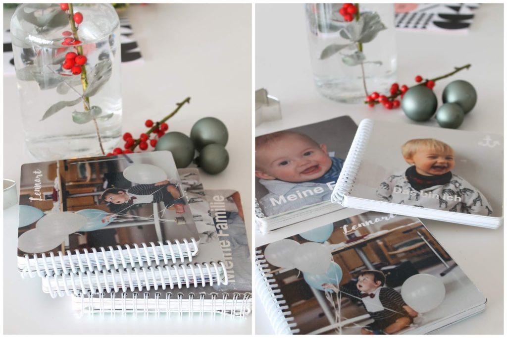 Fotobuecher alt neu Weihnachtsgeschenke Geschenkidee Kleine Prints Fotogeschenke fuer Kinder und Eltern Jules kleines Freudenhaus