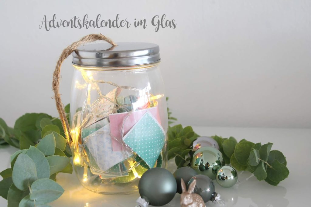DIY Adventskalender im Glas 24 days til christmas advent calendar Jules kleines Freudenhaus