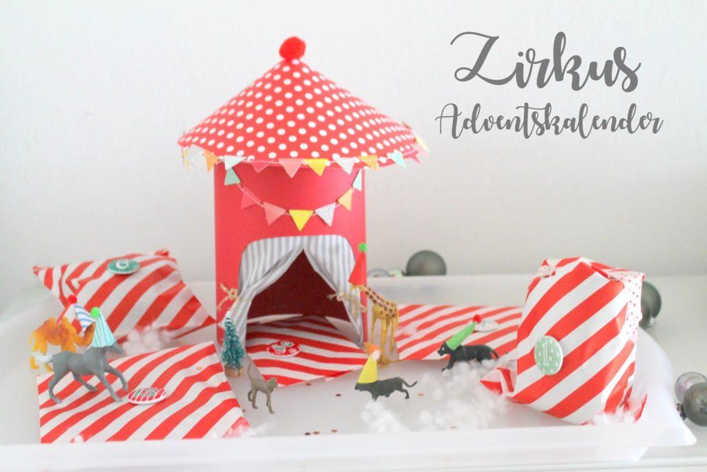 DIY Zirkus Adventskalender Jules kleines Freudenhaus