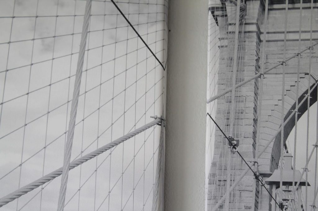 Brooklyn Bridge New York Motiv Pixers Ecke Wohnzimmer nachher Jules kleines Freudenhaus