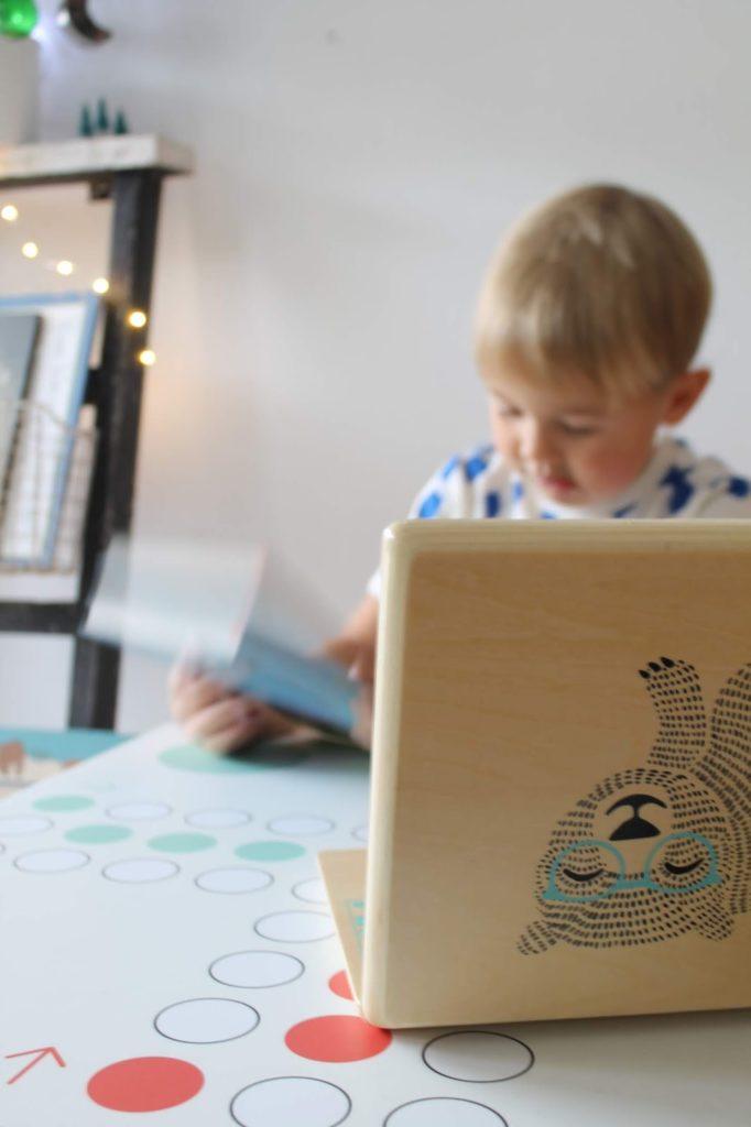 Holz Laptop Bloomingville Spielzeug Weihnachten Geschenkidee Concept Store tausendkind