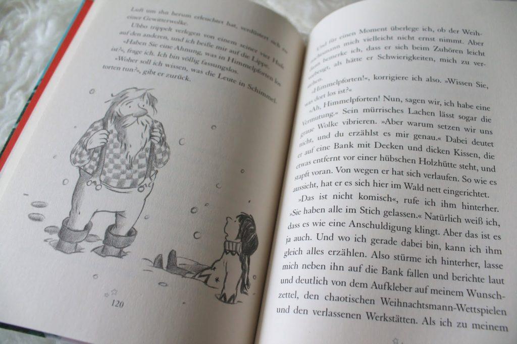 Buecherei spielen mit Kindern Buchtipps zu Weihnachten Boje Verlag Jules kleines Freudenhaus