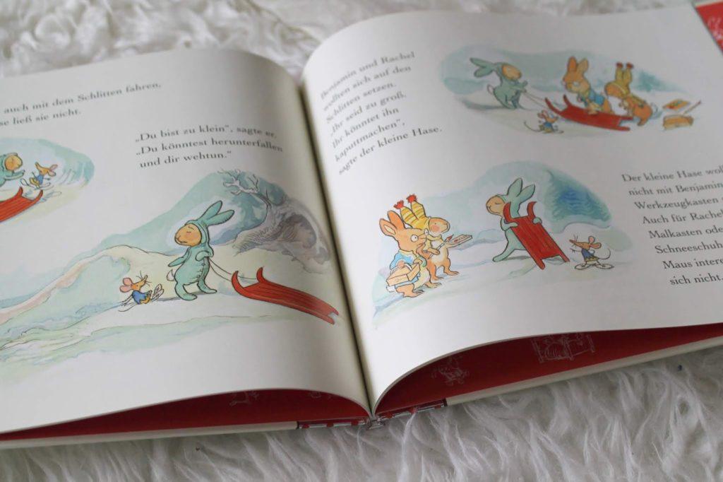 Buchtipp Der kleine Hase feiert Weihnachten Boje Verlag Jules kleines Freudenhaus