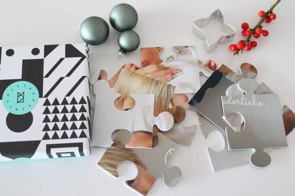 Foto-Puzzle 12 Teile Kinder Weihnachtsgeschenke Geschenkidee Kleine Prints Fotogeschenke fuer Kinder und Eltern Jules kleines Freudenhaus