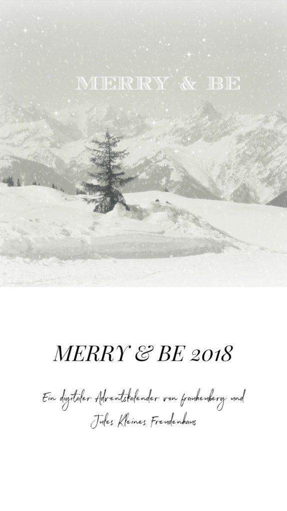 24 kleine Freuden im Advent ein digitaler Adventskalender von Jules kleines Freudenhaus und Frau Heuberg