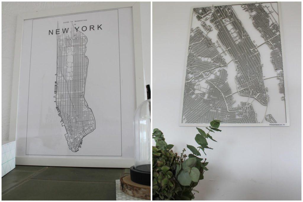 New York Motiv Pixers Ecke Wohnzimmer Jules kleines Freudenhaus