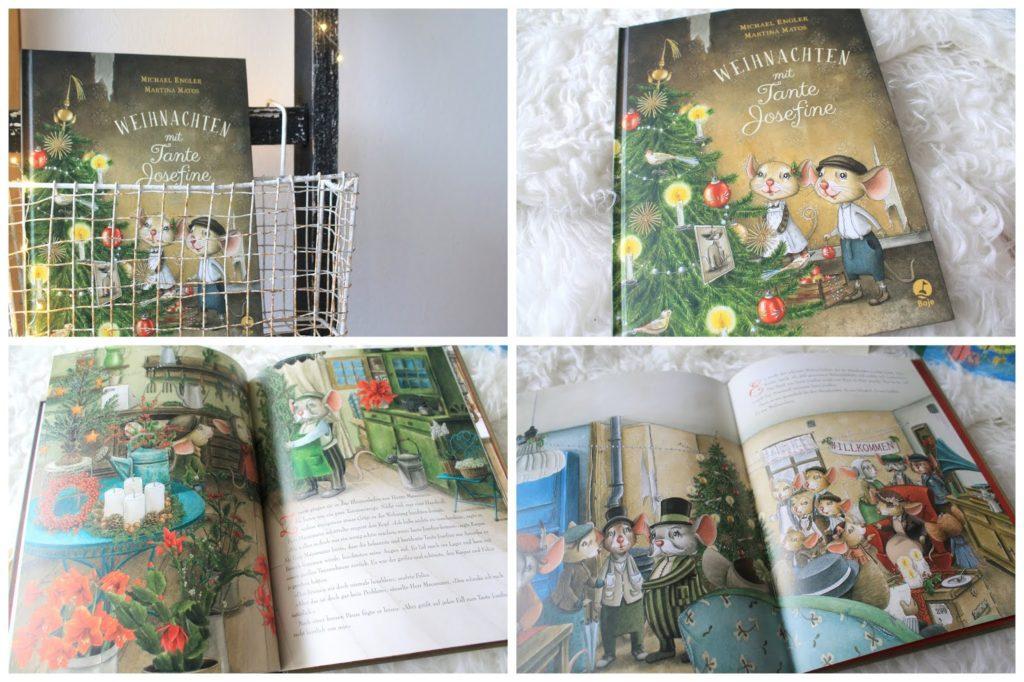 Buecherei spielen mit Kindern Weihnachtsbuchtipp Tante Josefine Jules kleines Freudenhaus