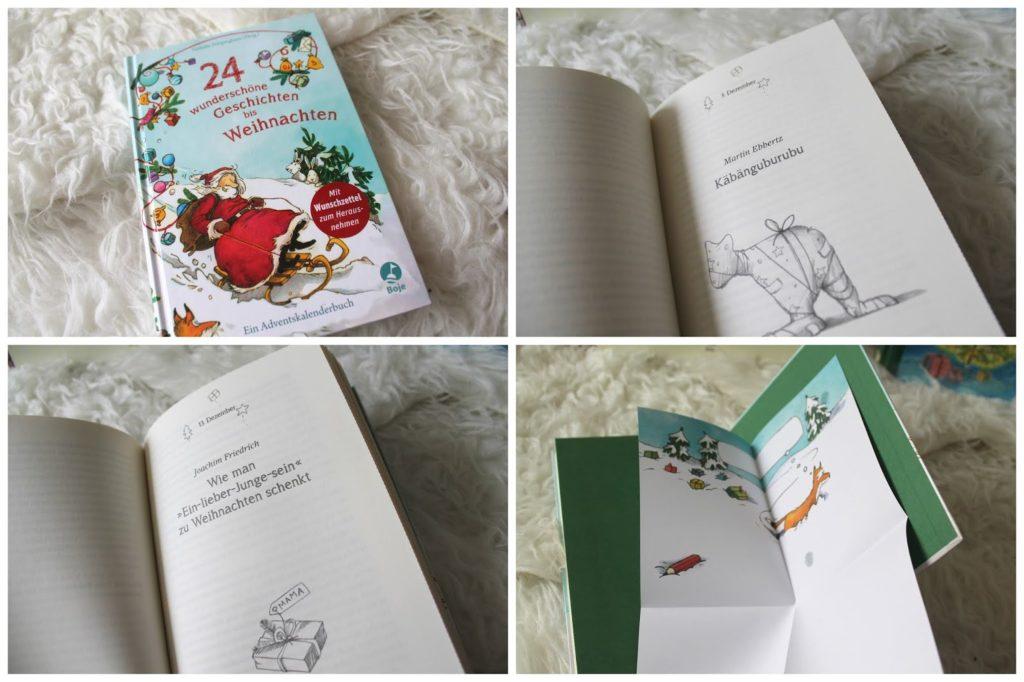 Adventskalenderbuch Weihnachten Kinderbuchtipp 24 Geschichten bis Weihnachten