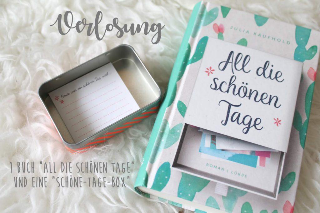 Buchtipp All die schoenen Tage Julia Kaufhold Verlosung Giveaway Geschenk Weihnachten Schoene-Tage-Box