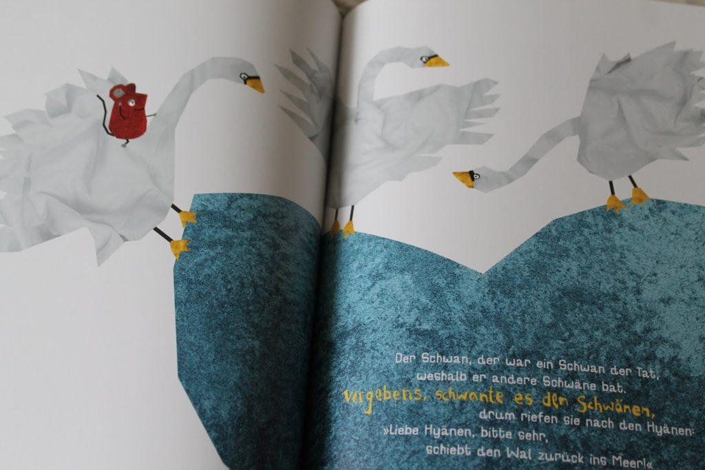 Kinderbuchtipp Schieb den Wal zurueck ins Meer Illustratorenpreis 2018 Jules kleines Freudenhaus