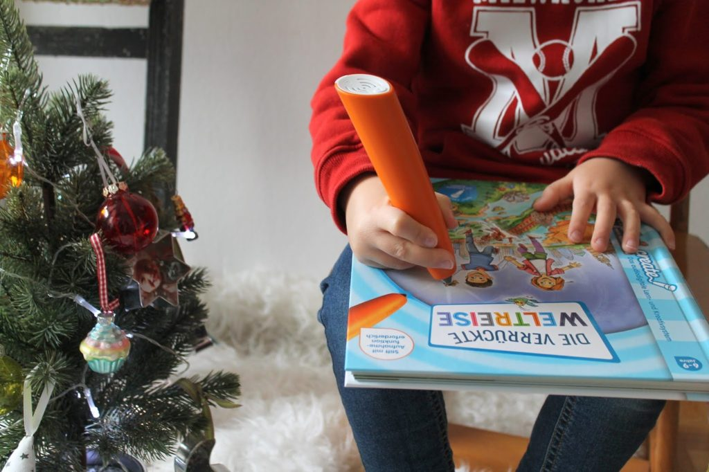 tiptoi create weihnachtsgeschenkidee die verrueckte weltreise starterset