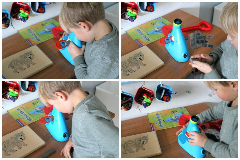 Forscher Set MINT Spielzeug tausendkind Geschenkideen Forscher Mikroskop Kindergartenkinder Jules kleines Freudenhaus