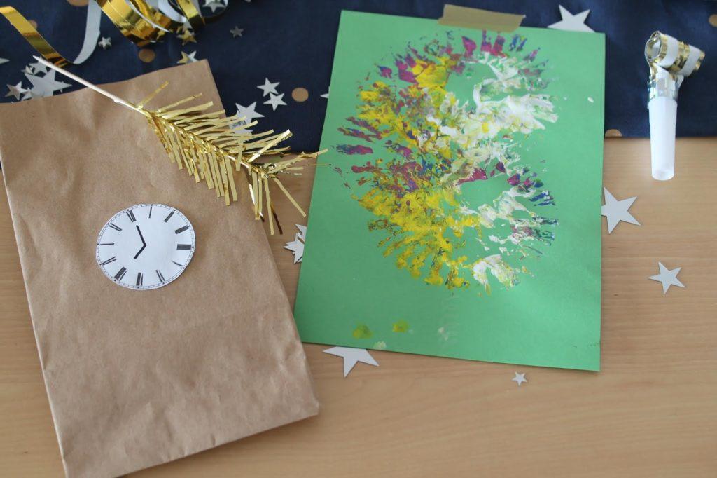 Feuerwerkskunst Bestes Silvester mit Kindern Tipps und Tricks Countdown Bags Spielideen Jules kleines Freudenhaus