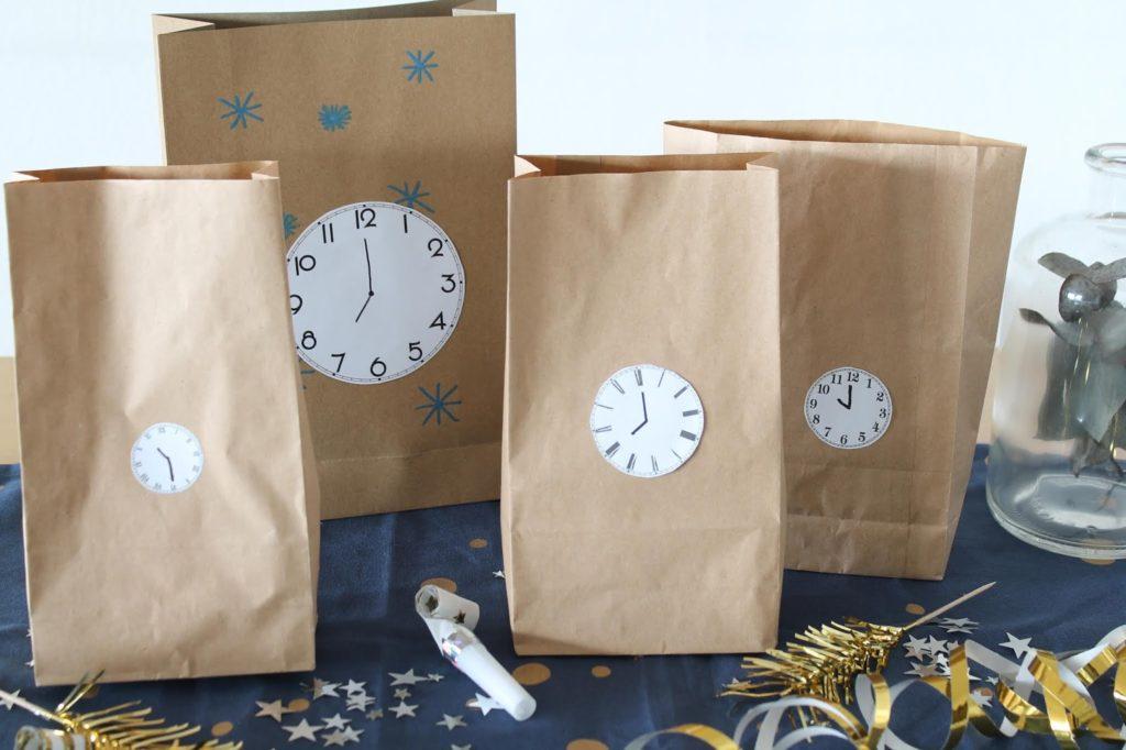 Bestes Silvester mit Kindern Tipps und Tricks Countdown Bags Spielideen Jules kleines Freudenhaus 2