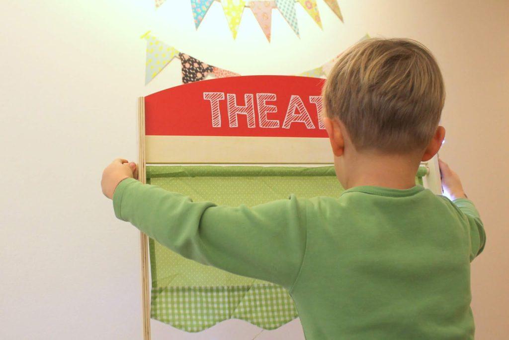 Theater spielen fuer Kinder Winterideen Jules kleines Freudenhaus