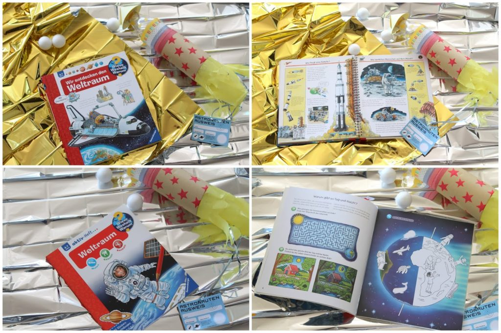 Wieso Weshalb Warum Ravensburger Buchtipps Weltraum Astronauten Entdecker Kindergeburtstag Party Verlosung Jules kleines Freudenhaus